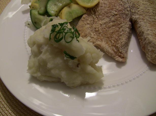 Parmesan Garlic Mashed Potatoes