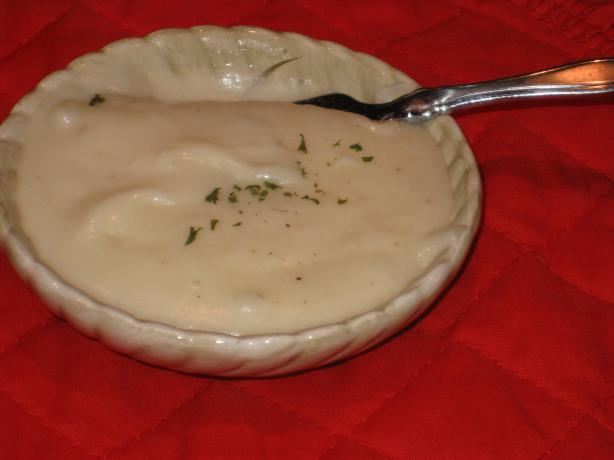 Garlic Creamed Mashed Red Potatoes
