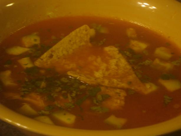 The Mansion's Chicken Tortilla Soup