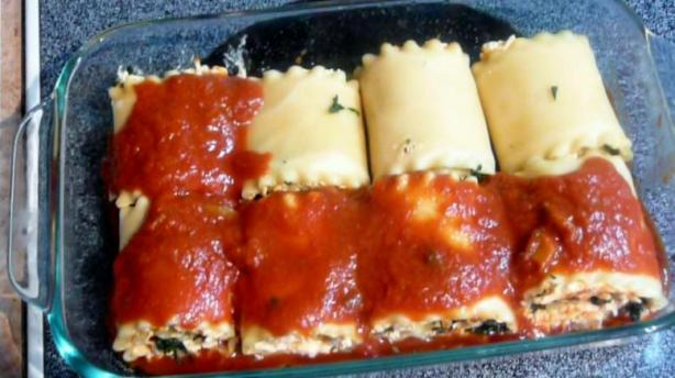 Mini Lasagna Roll-Ups