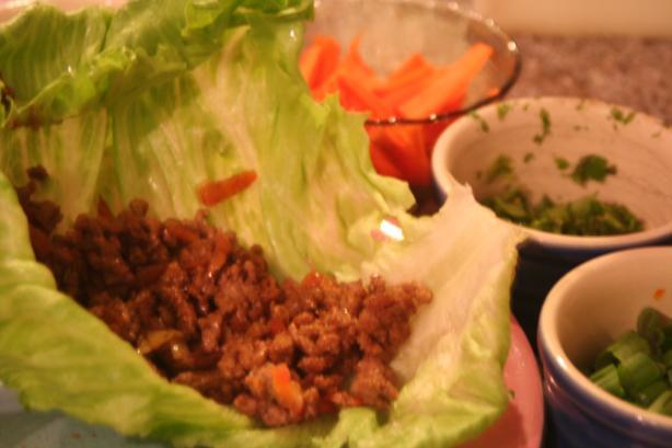 Low Calorie Thai Lettuce Wraps
