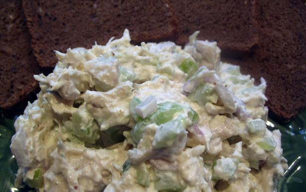 Zingy Chicken Salad With Sour Cream