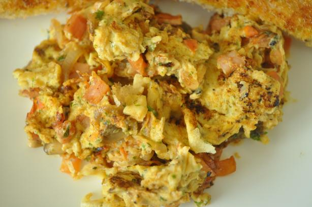 Savoury Scrambled Eggs