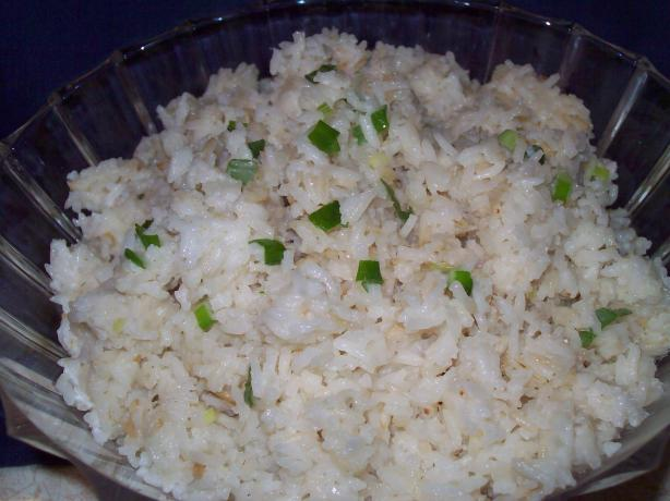 Easy, Light Coconut Rice
