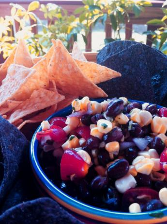 Peppery Black Bean Salsa
