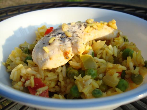 Arroz con Pollo (Baked Chicken and Rice)