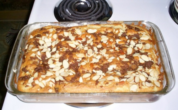Cinnamon Nut Streusel Coffee Cake