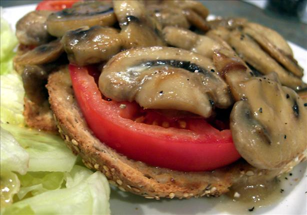 New Twist for Mushrooms on Toast