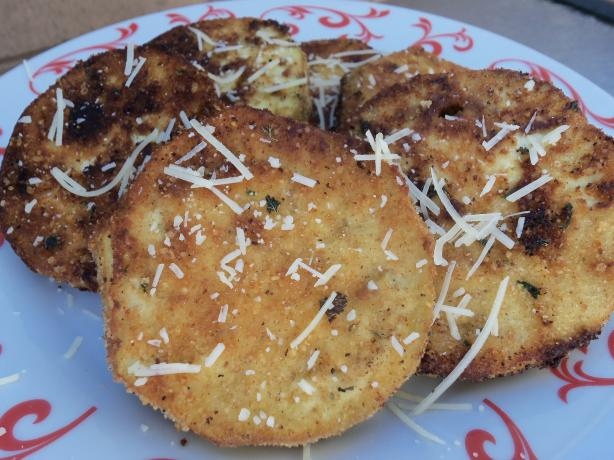 Kittencal's Fried Eggplant Slices (Vegetarian)