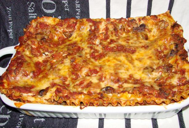 Family Favorite Vegetable Lasagna