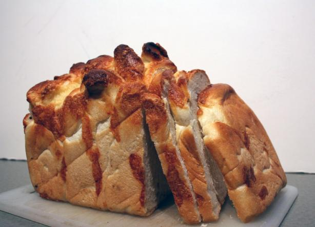 Wisconsin Cheese Pull-apart Bread