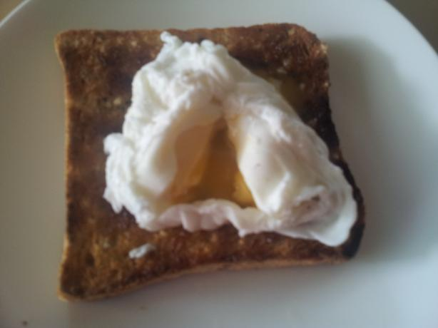 Perfect Microwave Poached Egg