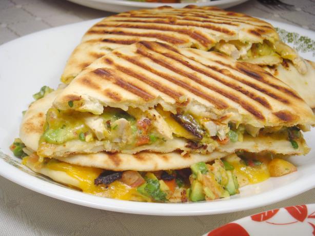 Chicken and Avocado Panini Sandwiches