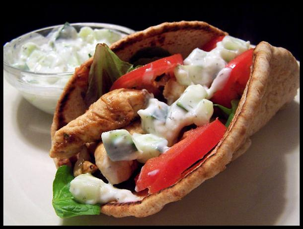 Chicken Gyros for 2