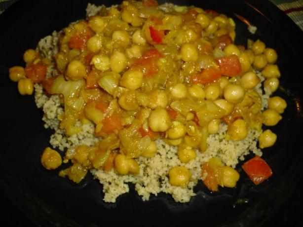 Chickpea Curry (Garbanzos)
