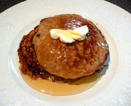 Ameraussie's Gluten Free Oatmeal Pancakes