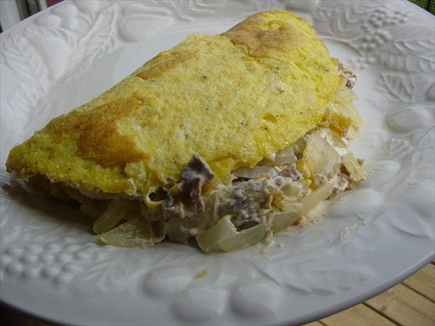 Philly Steak & Cheese Omelette