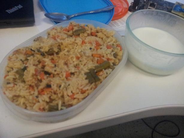 Perfect for Lunch : Vegetable Pulav