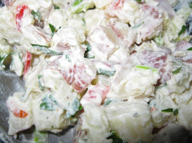 Roasted Red (New) Potato Salad