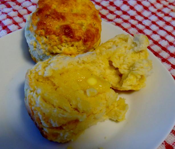 Carolina Buttermilk Biscuits (And/Or Southern Shortcake)