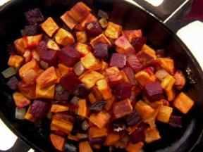 Sweet Potato-Beet Hash (Melissa D'Arabian)