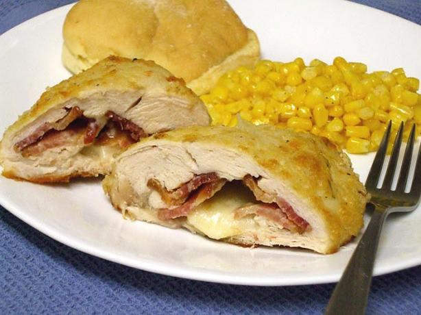 Chicken Breast Filled With Bacon & Cheese