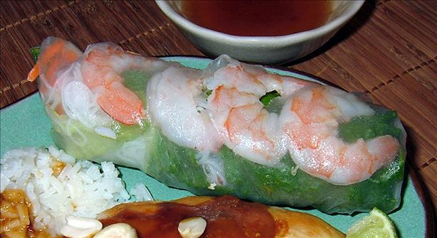 Thai Shrimp Rolls