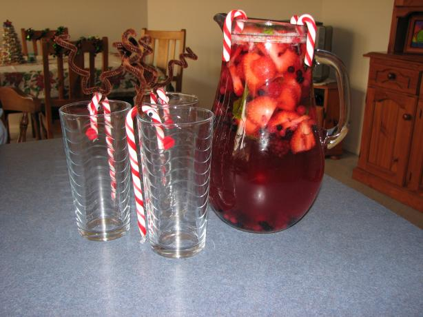 Merry Berry Christmas Punch