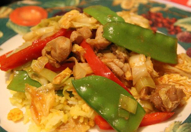 Ginger Lamb or Chicken Stir-Fry