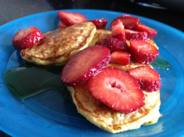 Oatmeal Cottage Cheese Pancakes