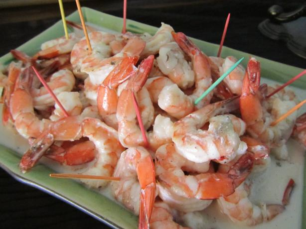 Tahitian Shrimp in Coconut-Vanilla Sauce