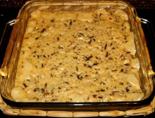 Wild Rice Chicken Casserole