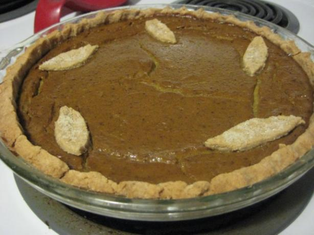 Vegan Pumpkin Pie and Crust
