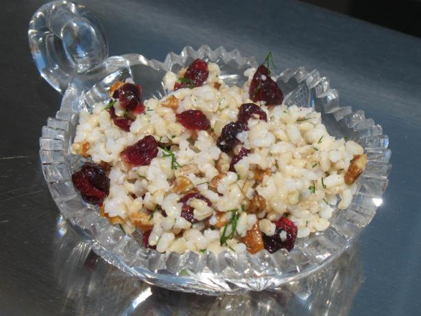 Rice Pilaf With Fresh Dill, Walnuts and Raisins