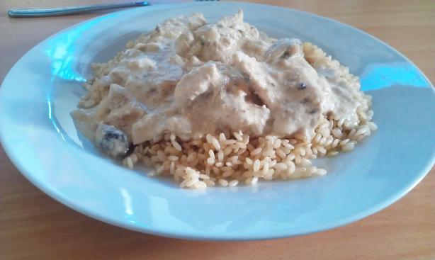 Chicken Stroganoff - Crock Pot