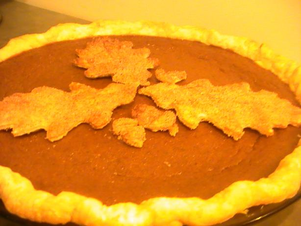 Dad's Favorite Pumpkin Pie
