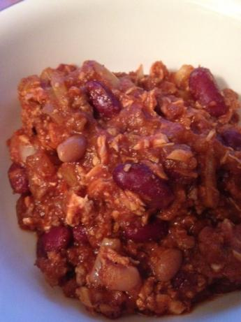 Who-Knew???? Ground Beef and Chicken Crock Pot Chili