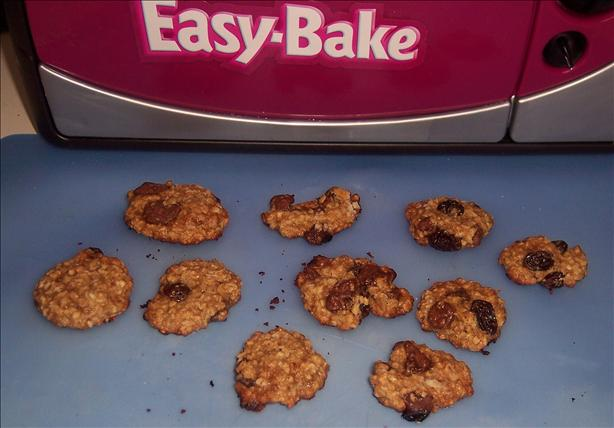 Easy Bake Oven Raisin Chocolate Chip Cookies