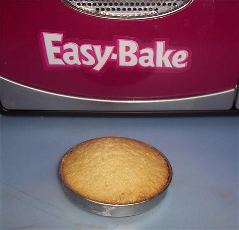 Easy Bake Oven White Cake Mix