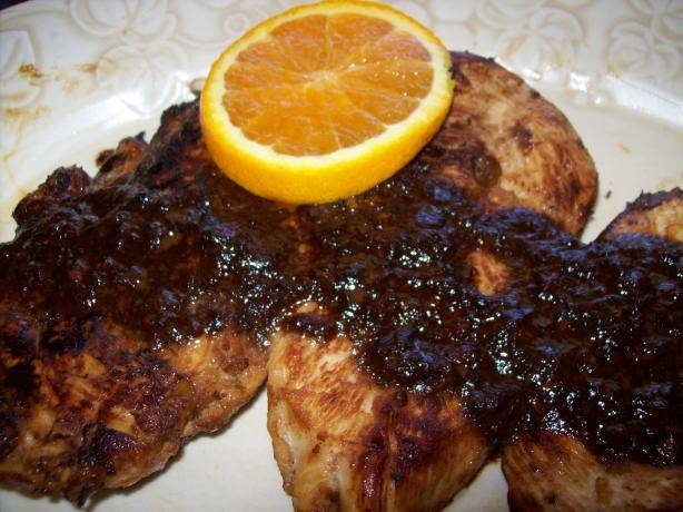 Triple Citrus Chicken Breasts With Lemon Pepper Sauce