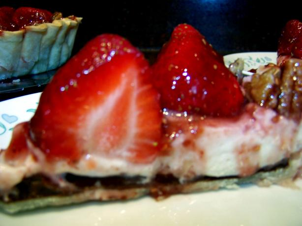 Berry-Licious Cream Cheese Tart / Pie