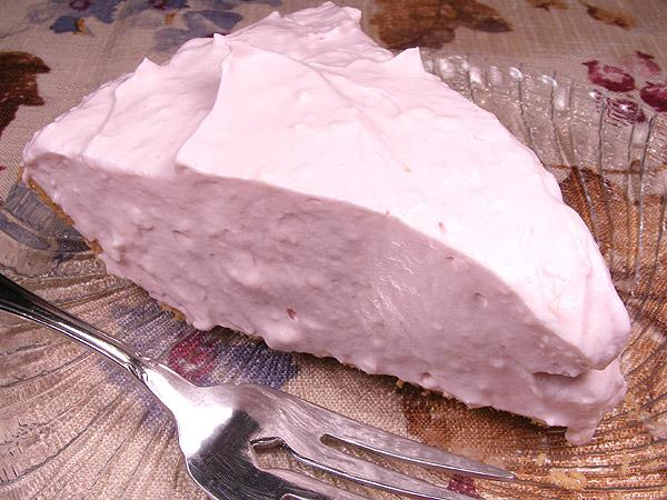 Pink Lemonade Cream Cheese Pie