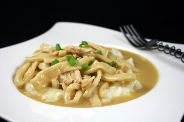Mom's Easy Chicken & Homemade Noodles