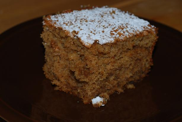 Coffee & Spices Sponge Cake