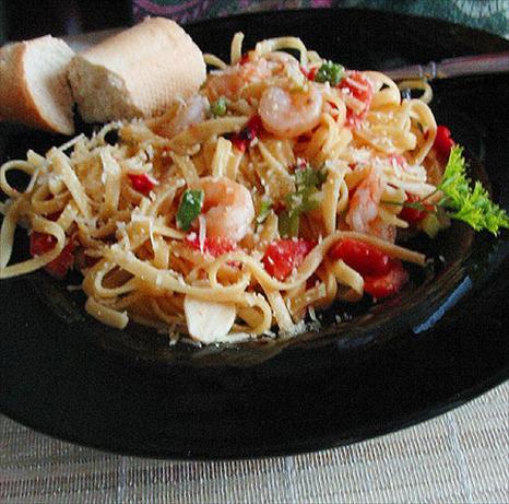 Scampi-Style Shrimp