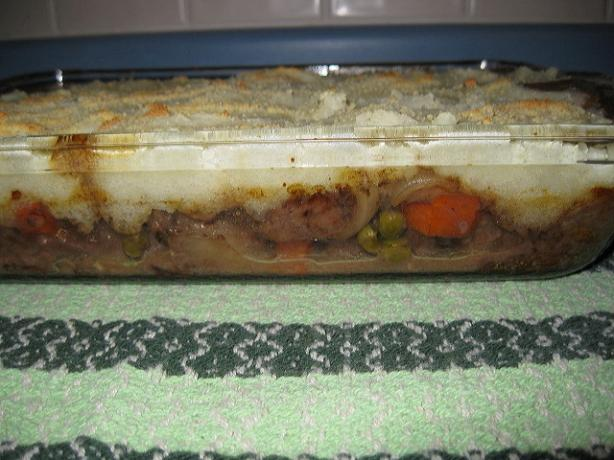 Beef Pot Pie With Mashed Potato Crust