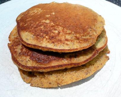 Whole Grain Flax Seed Pancake Mix