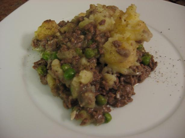 Shepherd's Pie with Garlic Mashed Potatoes