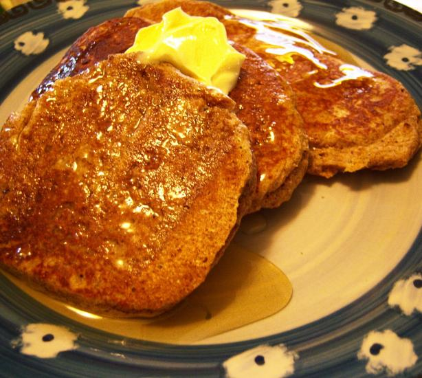 Light and Fluffy Flax Pancakes