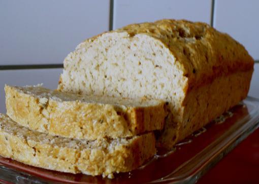 Cheddar-Herb Beer Bread